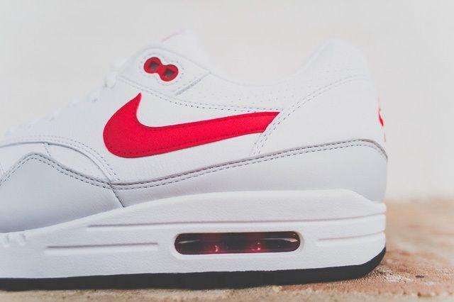 Nike Air Max 1 Leather Og White Uni Red 1