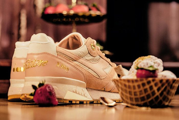 Feature Diadora N9000 Strawberry Gelato 6