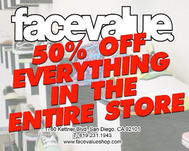 Facevalue Shop 50 Off Everything 1