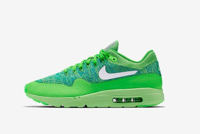 Nike Air Max 1 Ultra Flyknit Green 3