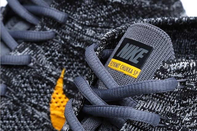 Nike Free Flyknit Chukka Sp University Gold 3