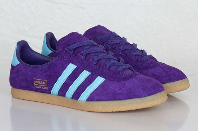 Adidas Originals Trimm Star Collegiate Purple Crystal Blue 6