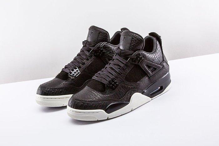 Air Jordan 4 Pinnacle Black 3