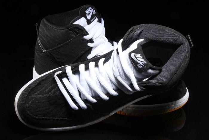 Nike Sb Dunk High Skunk 6