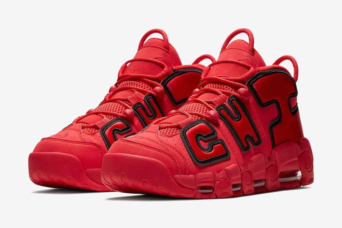Nike Air More Uptempo Chicago 5