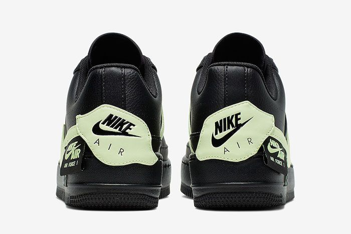 Nike Air Force 1 Jester Xx Black Barely Volt Cn0139 001 Heels