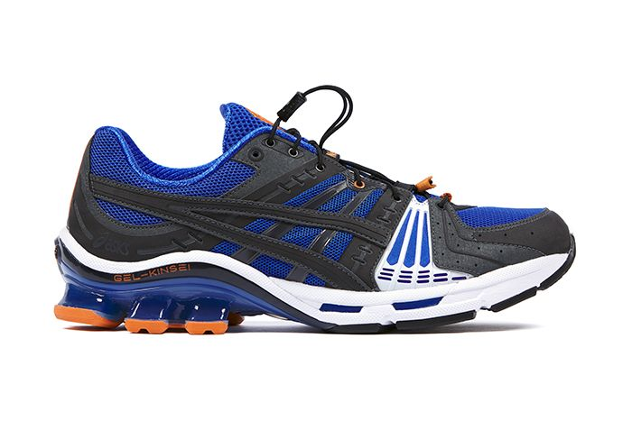 Affix Works Asics Gel Kinsei Blue Black Orange 2019 September Release Date Lateral