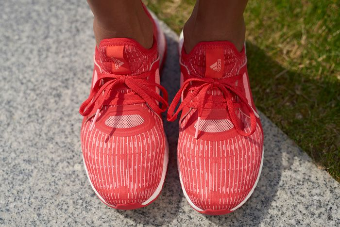 Adidas Pure Boost X Wmns Red2