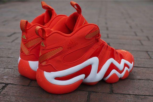 Adidas Crazy 8 Bright Orange Heel2