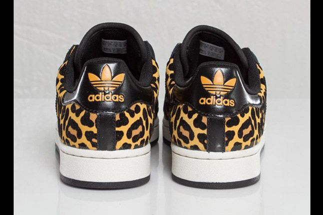 Adidas Originals Superstar 2 Leopard Animal Pack Heel 1