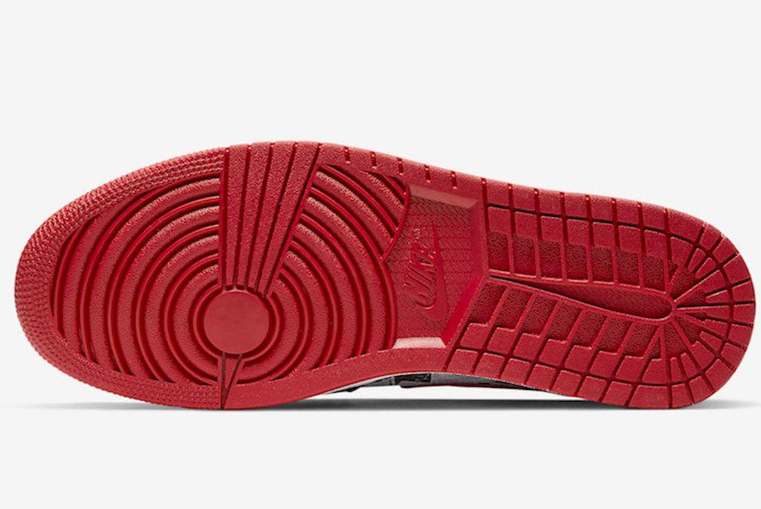 Air Jordan 1 Mid Se Newspaper 852542 061 Release Date 1 Sole