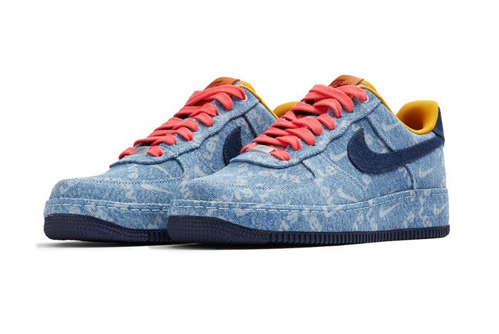 Levis X Nike Air Force 1 Low Front Angle