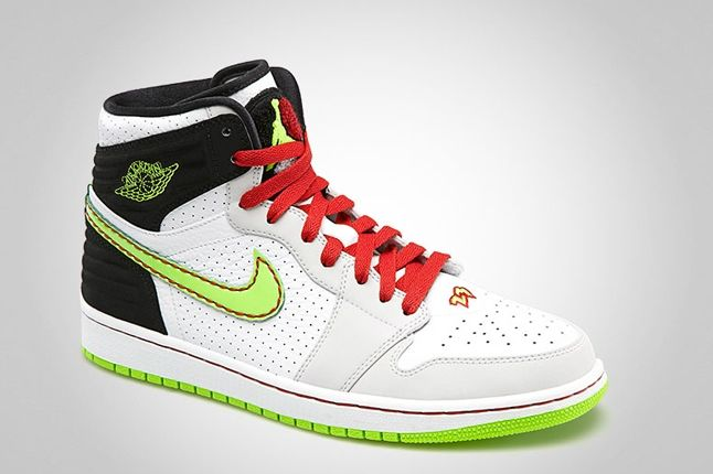 Air Jordan 1 Retro 93 Electric Green Angle 1