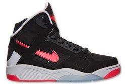 Nike Air Flight Lite High Black Red Thumb