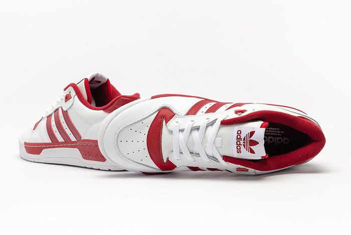 Adidas Rivalry Low White Red Ee4967 Top