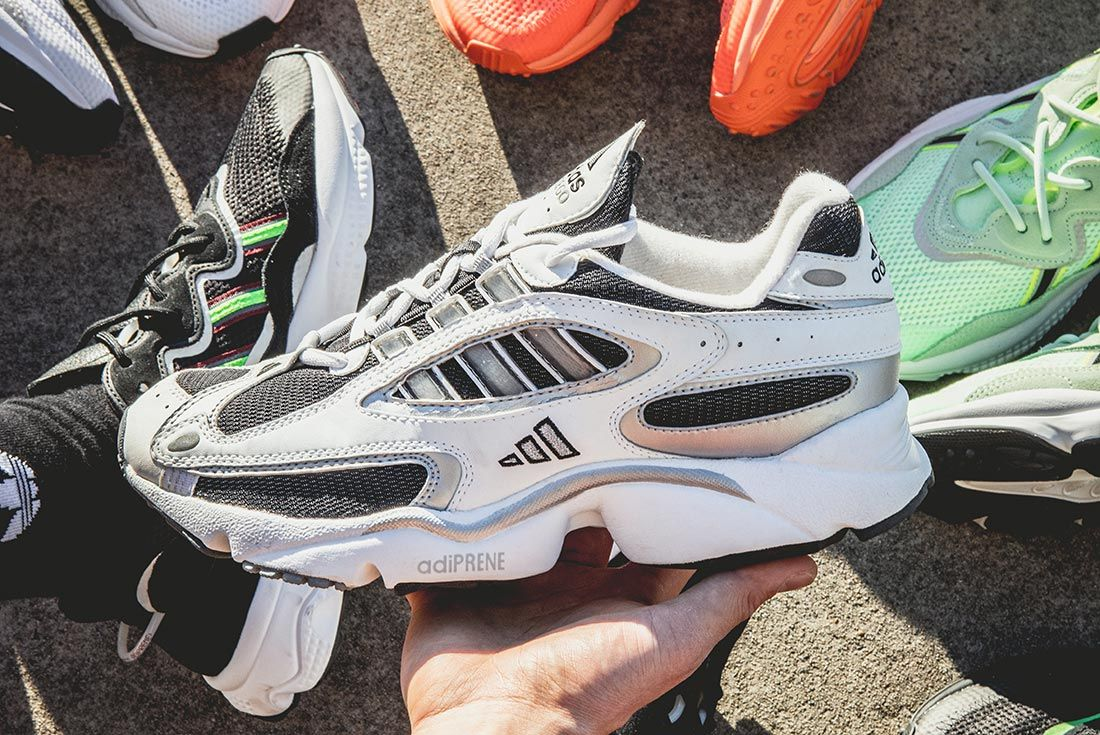 Jemuel Wong Adidas Ozweego Retro In Hand