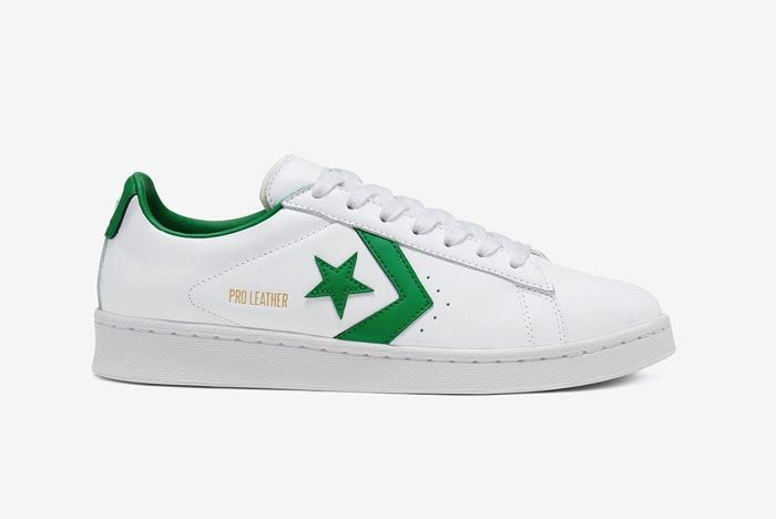 Converse Pro Leather Ox Green Lateral