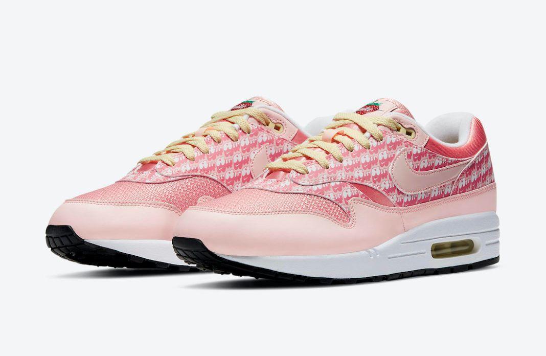 "Nike Air Max 1 ""Strawberry Lemonade"" official"