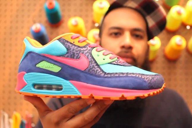 Air Max 90 New @ Nike Id - Sneaker Freaker