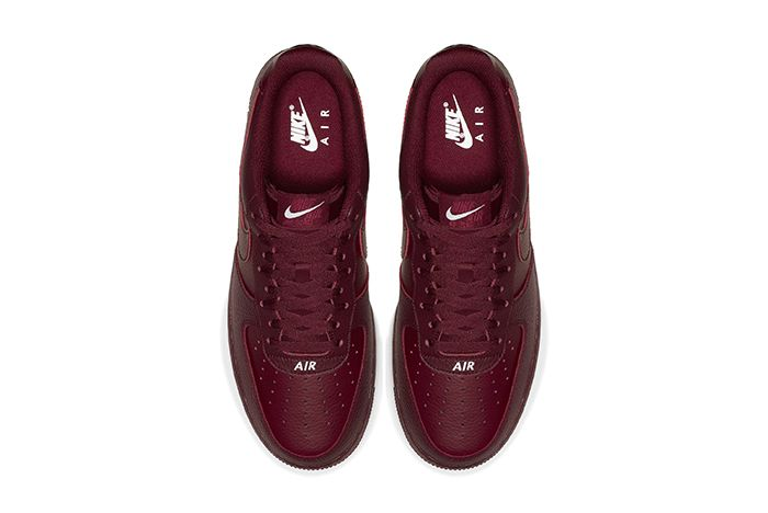 Nike Air Force 1 Low Sail Team Red New Branding 6