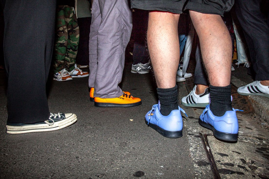 Adidas Skateboarding Fucking Party On Foot