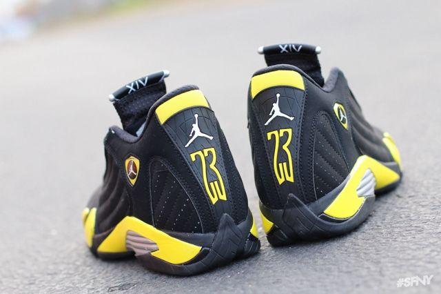 Air Jordan 14 Thunder 3