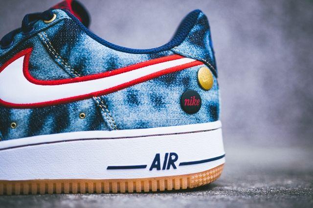 Nike Air Force 1 Acid Wash Denim Pack 1