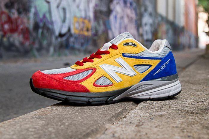 Shoe City X Eat X New Balance 990 V4 12