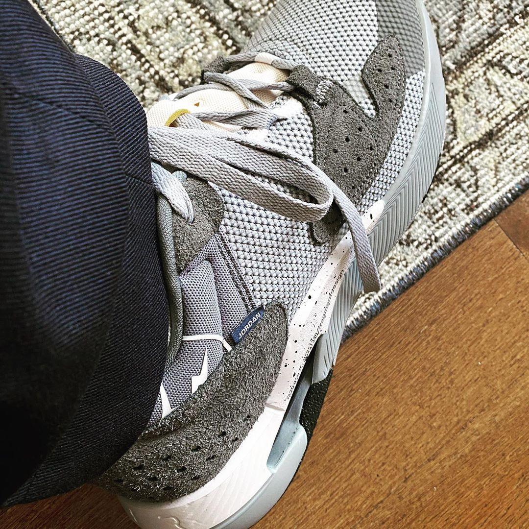 Jordan Brand Fragment Delta On Foot