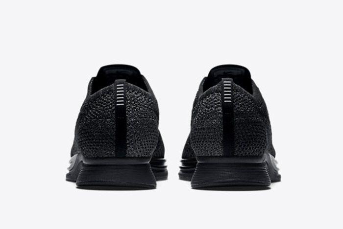 Nike Flyknit Racer Triple Black Restock 3