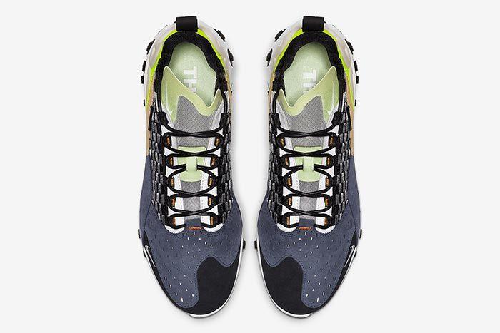 Nike Sertu React Black Volt Aboveshot