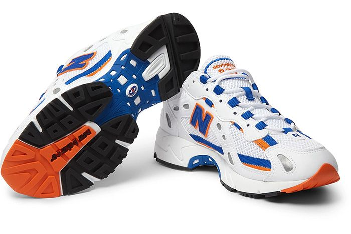 New Balance 827 Blue Orange Sole 1