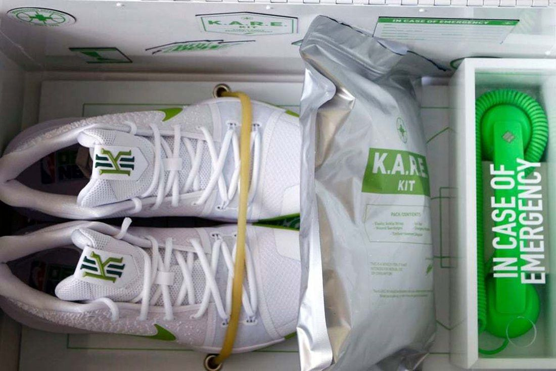 Mountain Dew X Nike Kyrie 3 K A R E  Kit