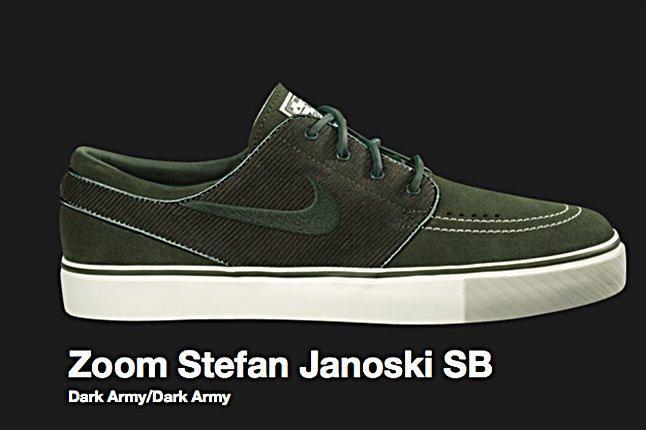 Nike Sb Zoom Stefan Janoski Sb Dark Army 2010 1