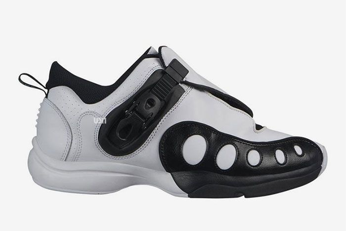 Nike Zoom Gp White Black Right