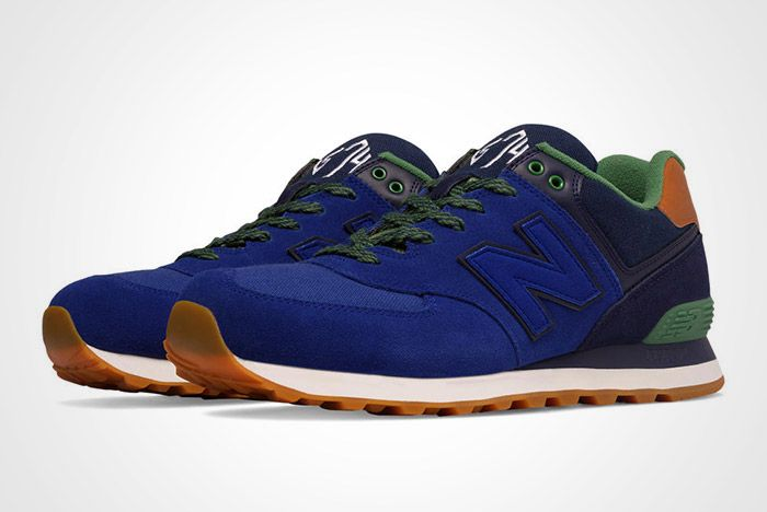 New Balance 574 Collegiate Pack Blue Thumb