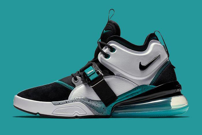 Nike Air Force 270 Jade Teal 3