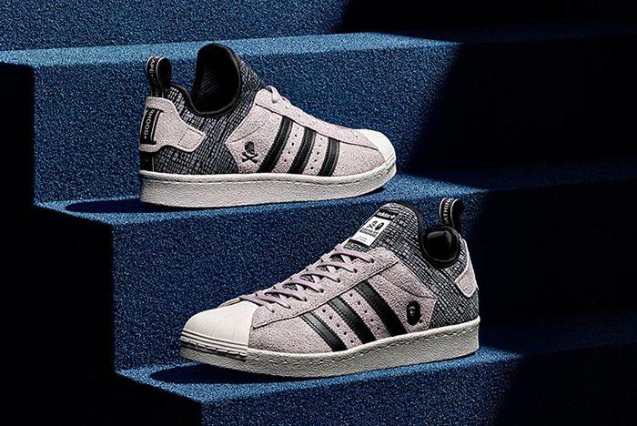 Bape X Neighborhood X Adidas Superstar Boost4