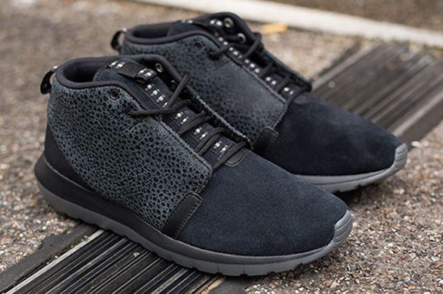 Roshe Run Sneaker Black Safari 4