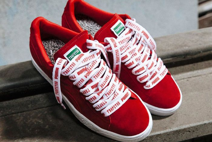 Puma Trapstar 2016 Basket Red 1