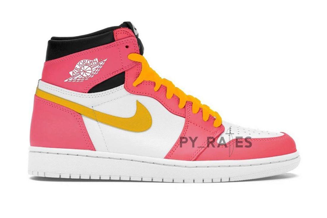 Air Jordan 1 Pink Right