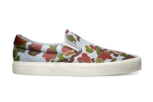 Vans California Collection Slip On 59 Ca Camo Suiting Captains Blue Fall 2013 1