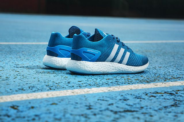Adidas Primeknit Pure Boost Solar Blue 5