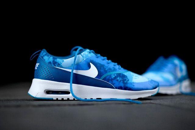 Nike Air Max Thea Print Blue Lacquer 5