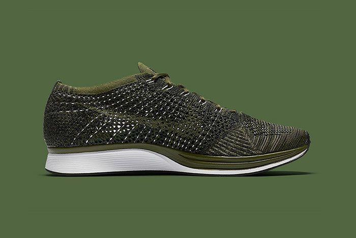 Nike Flyknit Racer Rough Green 2