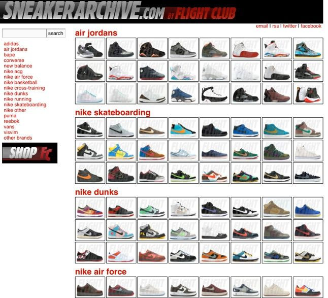 Sneaker Archive Shot 1