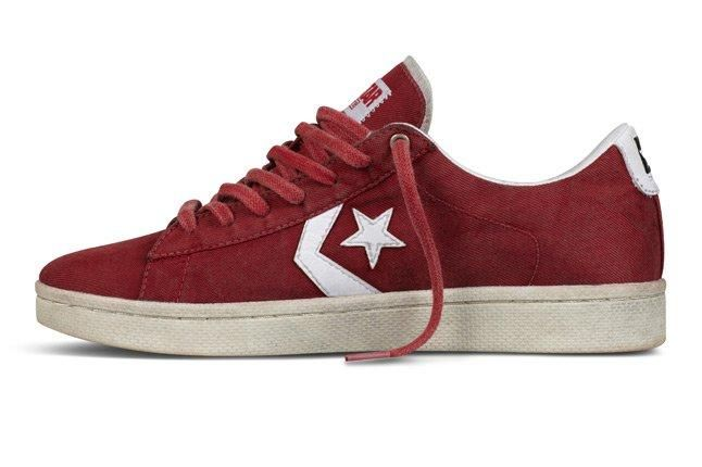 Clot X Converse Pro Leather First String Red White Lo Side Profile 1