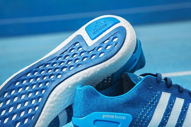 Adidas Primeknit Pure Boost Solar Blue 2