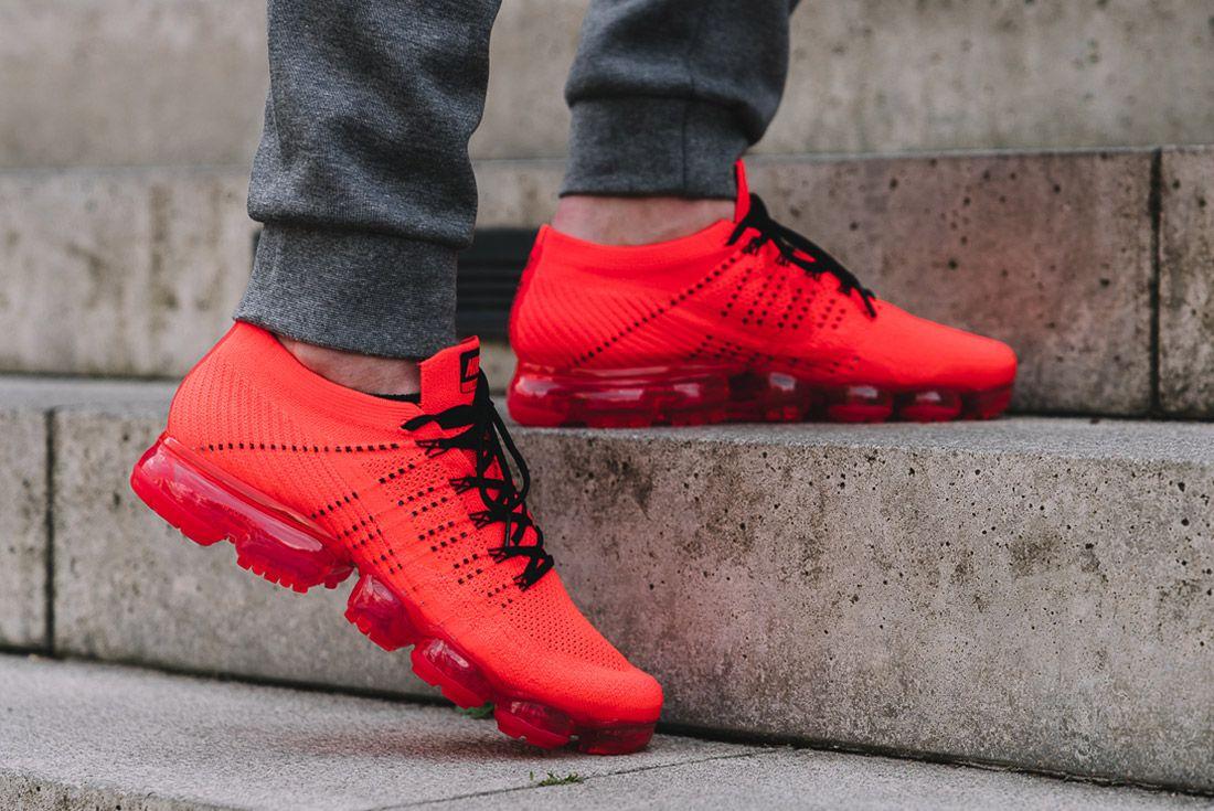 Nike Air Vapormax Clot Red 1