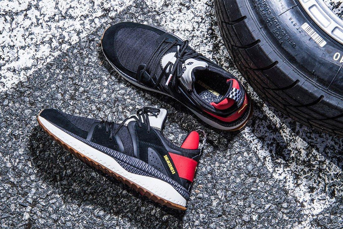 Sneakerness Puma Tsugi Black Race Car Club 1